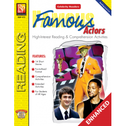 Celebrity Readers: Famous Actors (Enhanced eBook)
