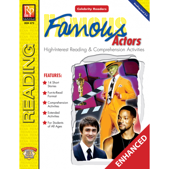 Celebrity Readers: Famous Actors (Enhanced eBook)