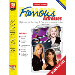 Celebrity Readers: Famous Actresses (Enhanced eBook)