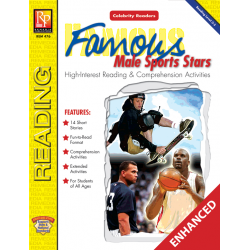 Celebrity Readers: Famous Male Sports Stars (Enhanced eBook)