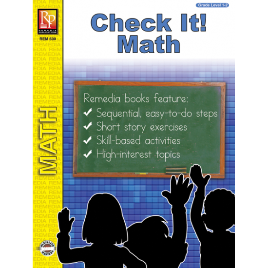 Check It! Self-Checking Addition & Subtraction Math Practice (eBook)