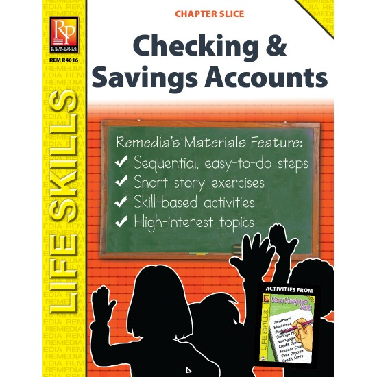 Checking Account & Savings Account Life Skills Unit (Chapter Slice)
