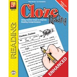 Cloze Reading - Reading Level 3 (Enhanced eBook)