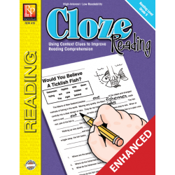 Cloze Reading - Reading Level 5 (Enhanced eBook)