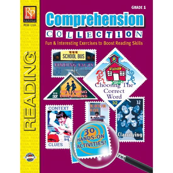 Comprehension Collection - Grade 1 (eBook)