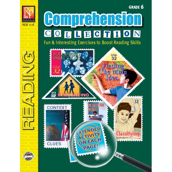 Comprehension Collection - Grade 6 (eBook)