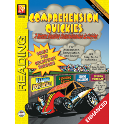 Comprehension Quickies - Reading Level 1 (Enhanced eBook)