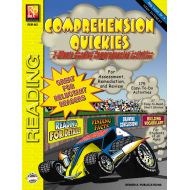 Comprehension Quickies - Reading Level 4 (eBook)