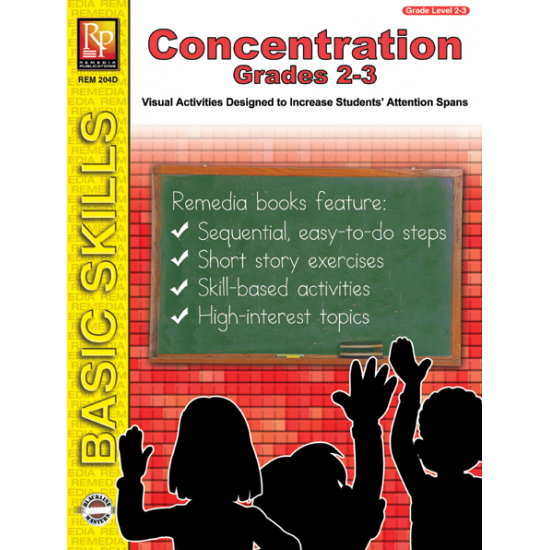 Concentration - Grades 2-3 (eBook)