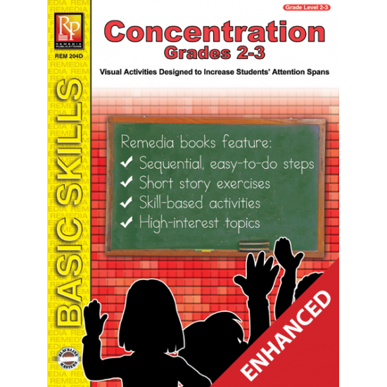 Concentration - Grades 2-3 (Enhanced eBook)