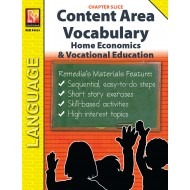 Home Economics & Vocational Education: Content Area Vocabulary (Chapter Slice)