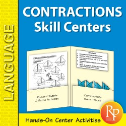 Contractions: Skill Centers (eBook)
