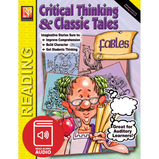 Critical Thinking & Classic Tales: Fables (Audio & eBook)