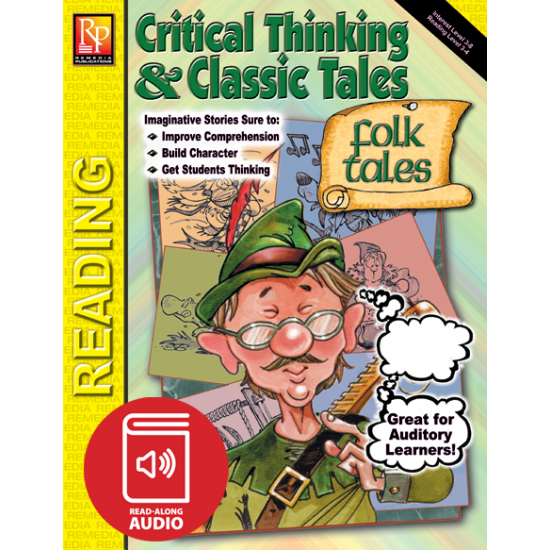 Critical Thinking & Classic Tales: Folktales (Audio & eBook)