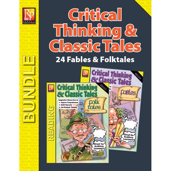 Critical Thinking & Classic Tales: Fables & Folktales (Bundle)