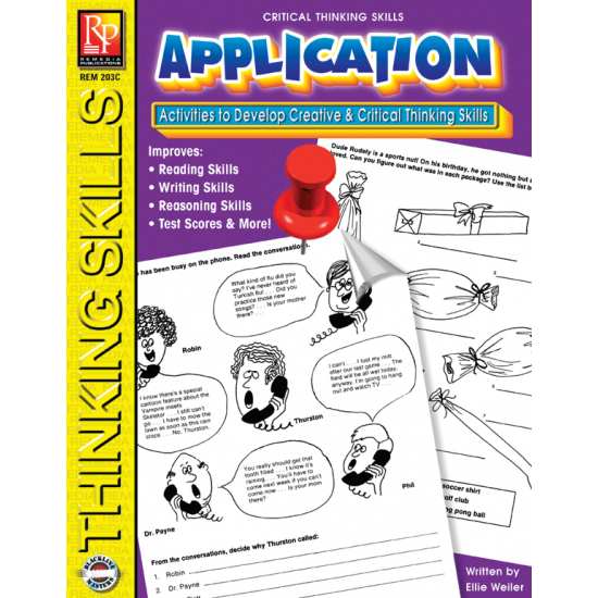 Critical Thinking Skills: Application (eBook)