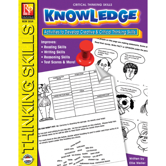 Critical Thinking Skills: Knowledge (eBook)