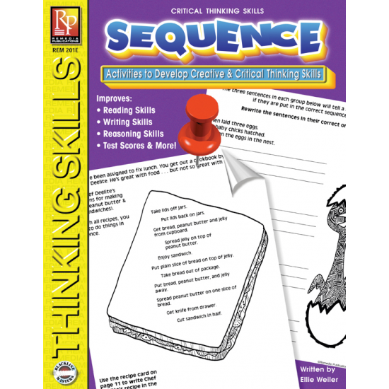 Critical Thinking Skills: Sequence (eBook)