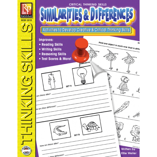 Critical Thinking Skills: Similarities & Differences (eBook)