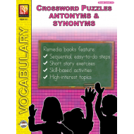 Antonyms & Synonyms: Crossword Puzzles (eBook)