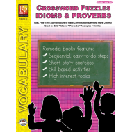 Idioms, Proverbs, Similes, & Analogies: Crossword Puzzles (eBook)