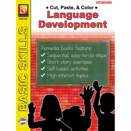 Cut, Paste, & Color: Language Development (eBook)