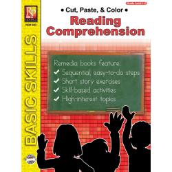 Cut, Paste, & Color: Reading Comprehension (eBook)