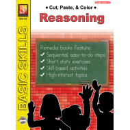 Cut, Paste, & Color: Reasoning (eBook)