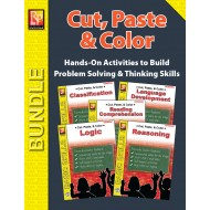 Cut, Paste, & Color (Bundle)