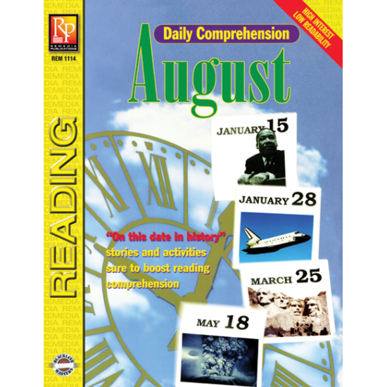 Daily Comprehension: August (eBook)