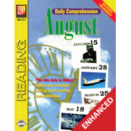 Daily Comprehension: August (Enhanced eBook)