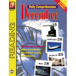 Daily Comprehension: December (eBook)