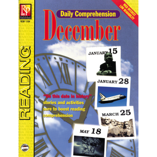 Daily Comprehension: December (eBook)