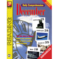 Daily Comprehension: December (Enhanced eBook)