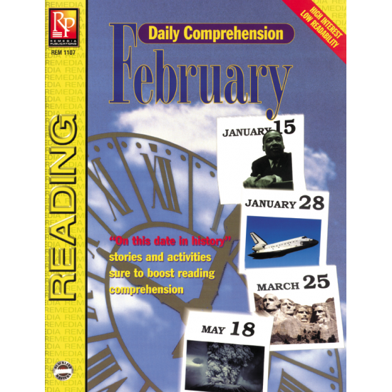 Daily Comprehension: February (eBook)