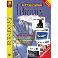 Daily Comprehension: February (Enhanced eBook)