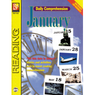 Daily Comprehension: January (eBook)