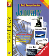 Daily Comprehension: January (Enhanced eBook)