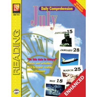 Daily Comprehension: July (Enhanced eBook)