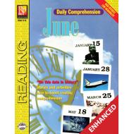 Daily Comprehension: June (Enhanced eBook)
