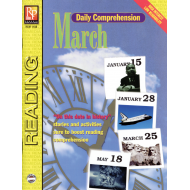Daily Comprehension: March (eBook)
