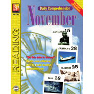 Daily Comprehension: November (eBook)