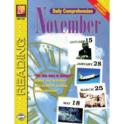 Daily Comprehension: November (eBook)