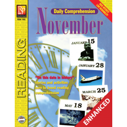 Daily Comprehension: November (Enhanced eBook)