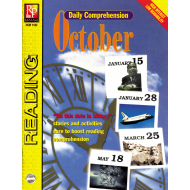 Daily Comprehension: October (eBook)