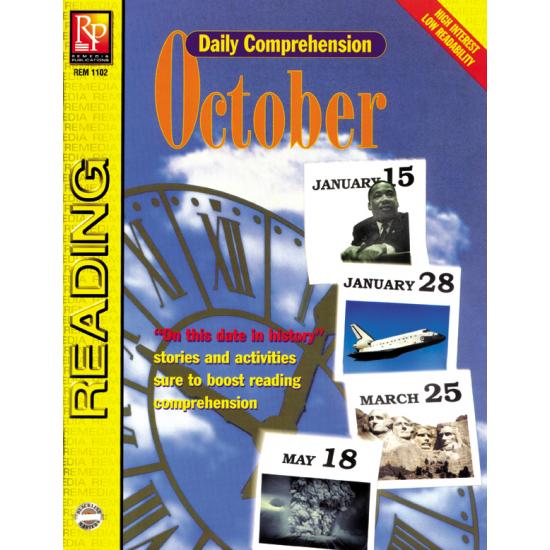 Daily Comprehension: October (eBook)