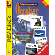 Daily Comprehension: October (Enhanced eBook)