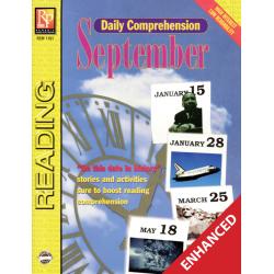 Daily Comprehension: September (Enhanced eBook)