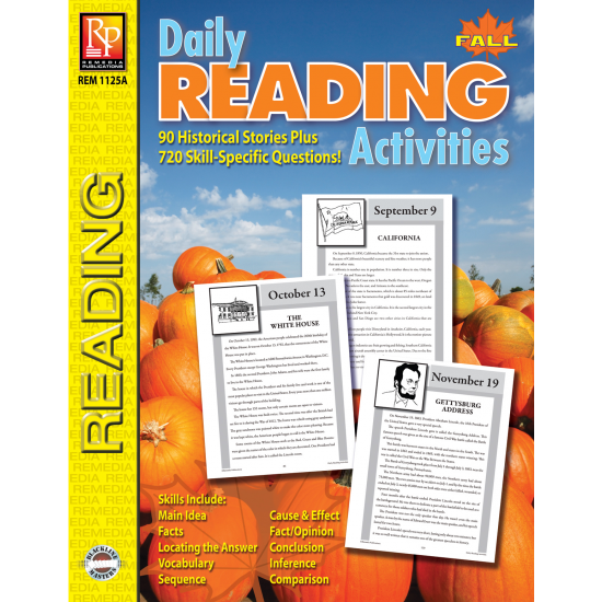 Daily Reading Activities: Fall (eBook)