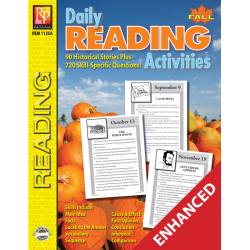 Daily Reading Activities: Fall (Enhanced eBook)